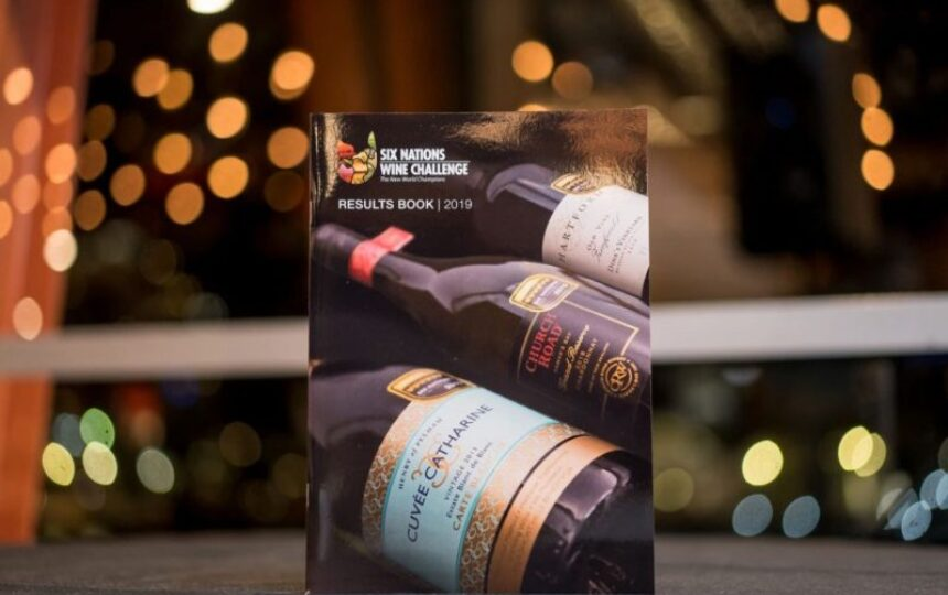 Canadian Chardonnay wins prestigious 'Wine of the Show' title at the 2019 Six Nations Wine Challenge